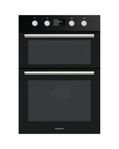 Hotpoint DD2 844C BL Built-in Double Electric Oven Fan Oven Class A Black