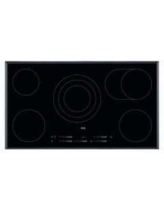 AEG HK955070FB 900mm Ceramic Hob Touch Control 5 x Cook Zones