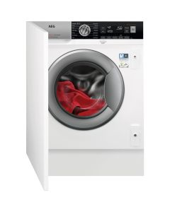 AEG L8FC8432BI 8000 series 1400rpm Integrated Washing Machine 8kg Load Class A+++