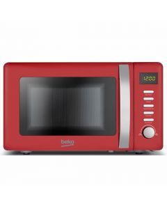 Beko MOC20200R 800Watts Microwave 20litres 5 Power Levels Red