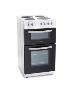 Montpellier MTE50FW 500mm Twin Cavity Electric Oven & Grill White