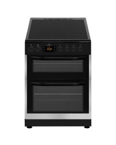 New World NWTOP62DCX 600mm Double Electric Cooker Ceramic Hob Inox