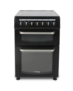 Montpellier TCC60BK ECO 600mm Twin Cavity Electric Oven & Grill Ceramic Hob