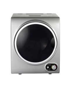 Teknix TKDV25S 2.5kg Load Compact Tumble Dryer Silver with White Door