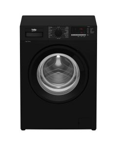 Beko WTL84151B 1400rpm Washing Machine 8kg Load Class A+++ Black