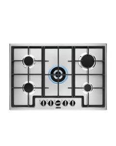 Zanussi ZGNN755X 744mm Gas Hob 5 x Burners inc WOK FSD Stainless Steel