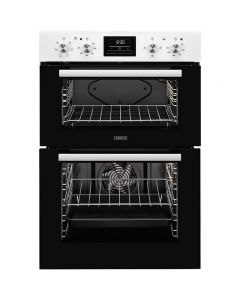 Zanussi ZOD35661WK Built-in Electric Double Oven 7-Multi-Functions White