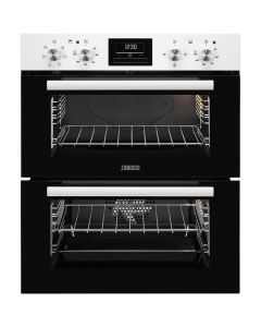 Zanussi ZOF35601WK Built-under Electric Double Oven 7-Multi-Function White