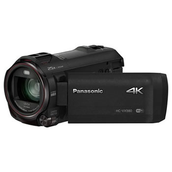 4K and HD Camcorders