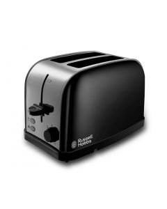 Russell Hobbs 18782 DORCHESTER 2 Slice Toaster Browning Control Black