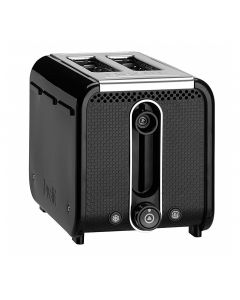 Dualit STUDIO 26410 2-Slice Toaster 9 Level Browning Control Black