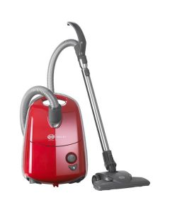 Sebo  E1 91600GB  700Watts Cylinder Bagged Vacuum Cleaner 3.5litres Red