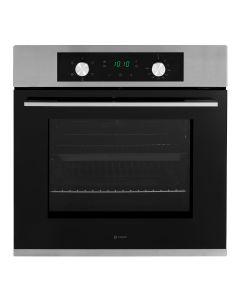 Caple C2234 Classic Single Electric Oven Multi Function LED Timer S/Steel