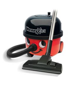 Numatic HENRY EXTRA HVX200-12 620Watts Cannister Vacuum Cleaner TriTex Filtration Red