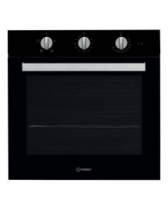 Indesit IFW 6330 BL Aria 600mm Built-in Single Oven Fan Oven Class A Black