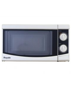 Royale MC19W 700Watts Compact Microwave Oven 17litres White