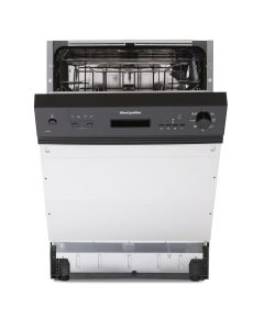 Montpellier MDI655K 12-Place Integrated Dishwasher 9 Progs Class E Black