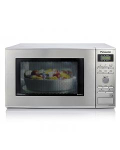 Panasonic NNGD37HSBPQ 1000Watts Compact Microwave & Grill Stainless Steel