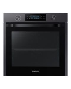 """Samsung NV75K5574RM 600mm Built-in Electric Single Fan Oven 4.6"""" Touch LCD"""