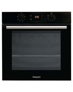 Hotpoint SA2 540H BL Built-In Single Electric Oven Multi-Function Black