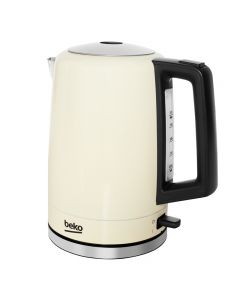 Beko WKM7306C 3Kw Kettle 1.6litre 360° Rotating Base Cream