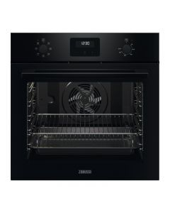 Zanussi ZOHNX3K1 series20 FanCook Built-in Single Electric Oven with Fan Black