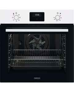 Zanussi ZOHNX3W1 series20 FanCook Built-in Single Electric Oven with Fan White