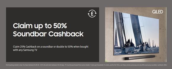 Samsung Double Cash Back Offer